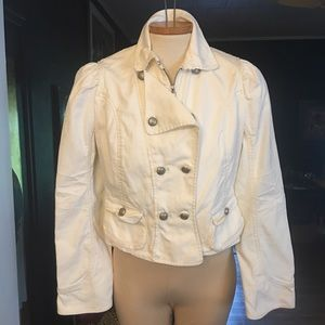 Max Jeans Denim Moto Jacket
